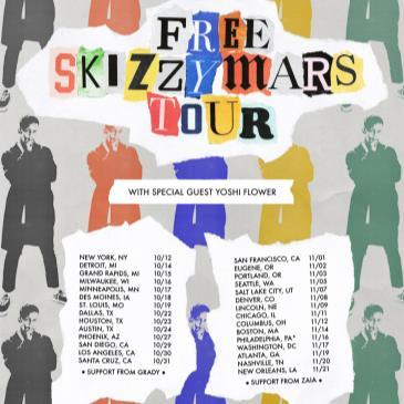 The Free Skizzy Mars Tour with Yoshi Flower, Grady-img